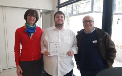 Jordi Gouilly lauréat du prix GREMI – Michel CHIGNARD 2019